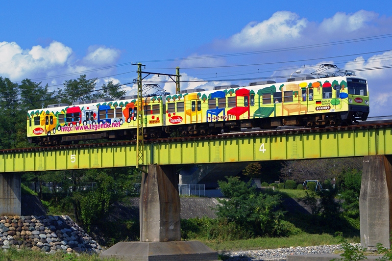 2011年9月18日 東富岡~上州福島にて