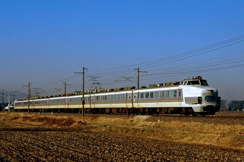 1997年1月29日 内原~赤塚にて