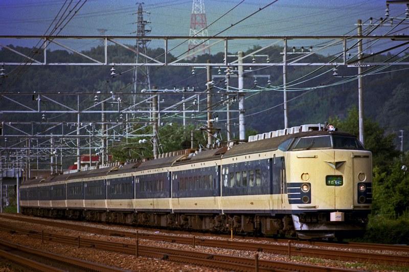 1991年9月2日 高槻~山崎にて