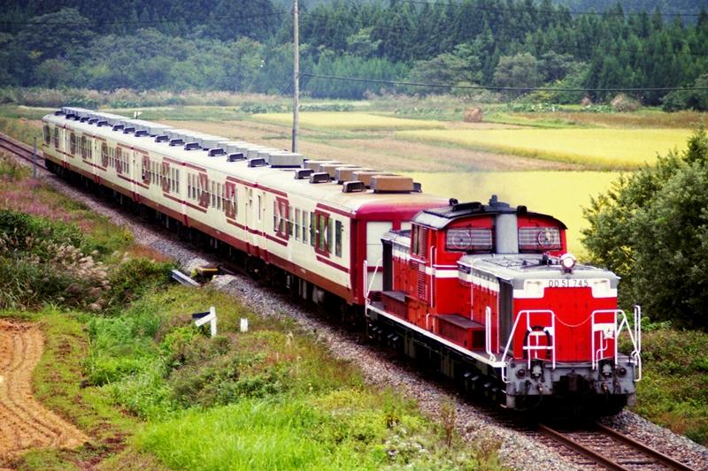 1995年10月2日 上野尻~野沢にて