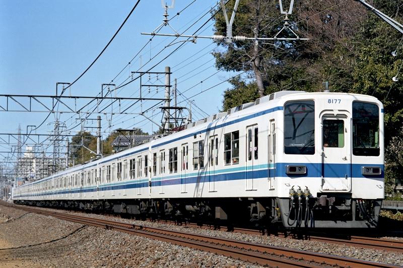 2005年2月6日 柳瀬川~志木にて