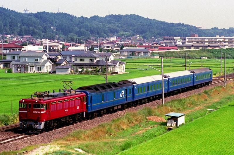 1994年8月5日 前沢~平泉にて