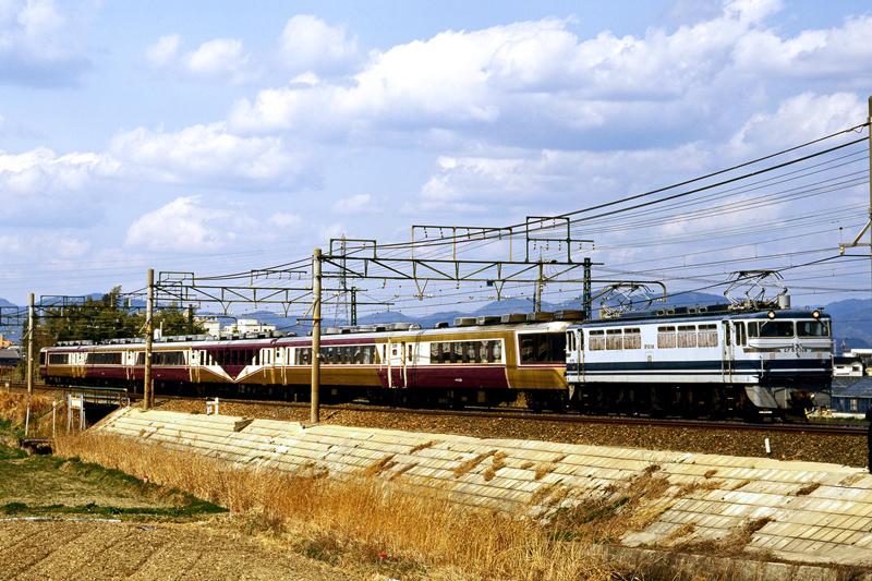 1998年3月22日 西小坂井~豊橋にて