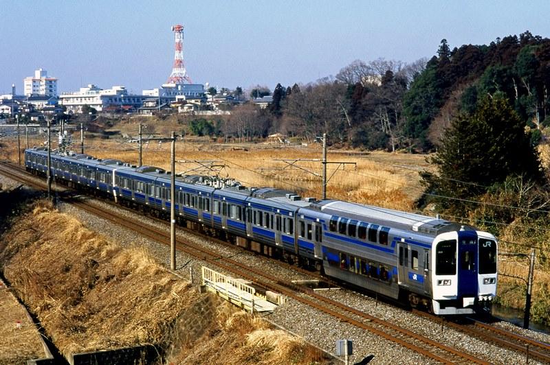 1996年1月28日 赤塚~偕楽園(臨)にて
