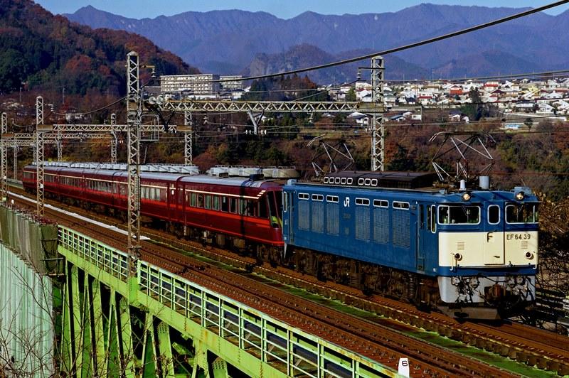 2001年12月2日 猿橋~鳥沢にて