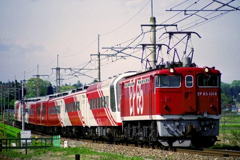 1992年5月4日 片岡~蒲須坂にて