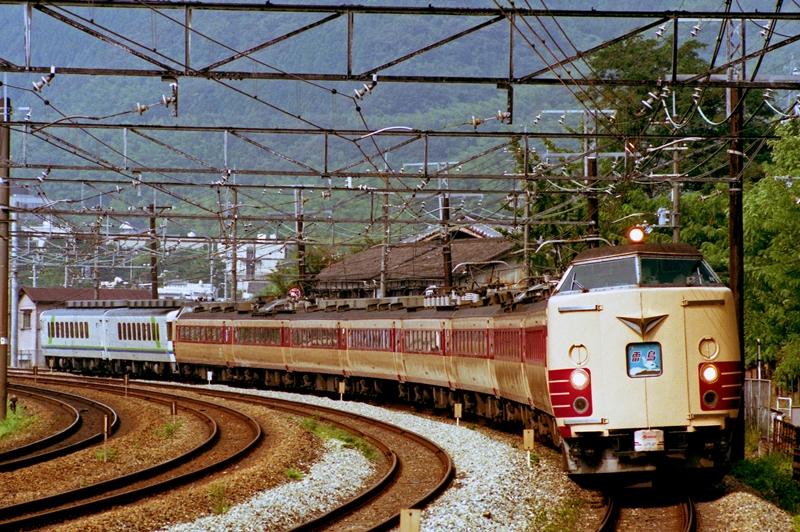 1990年8月12日 高槻~山崎にて (6)