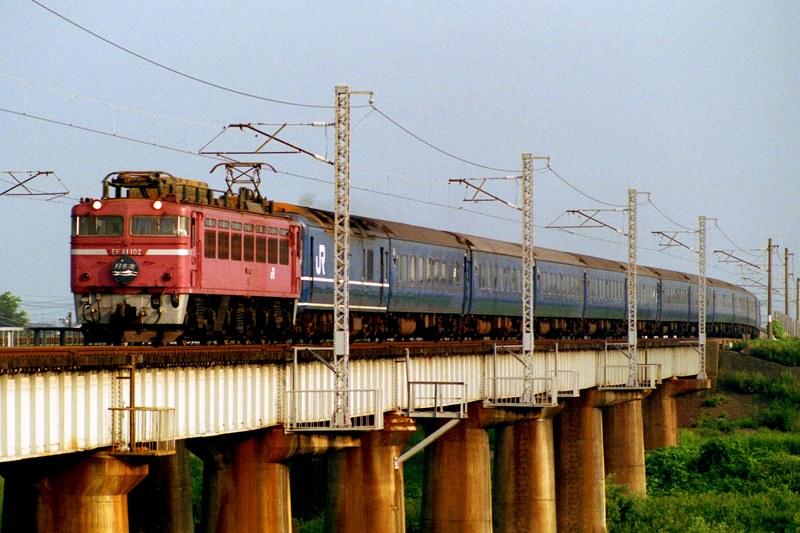 1990年8月13日 森田~福井にて