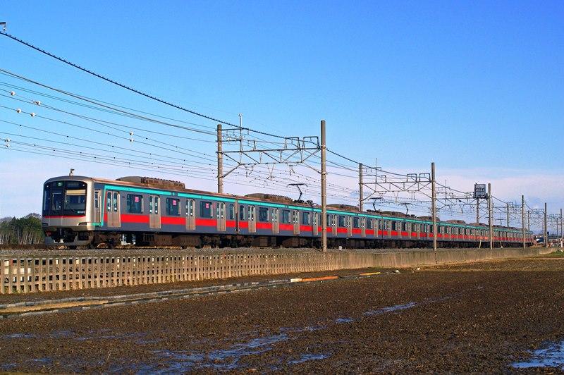 2010年3月11日 東武動物公園~姫宮にて