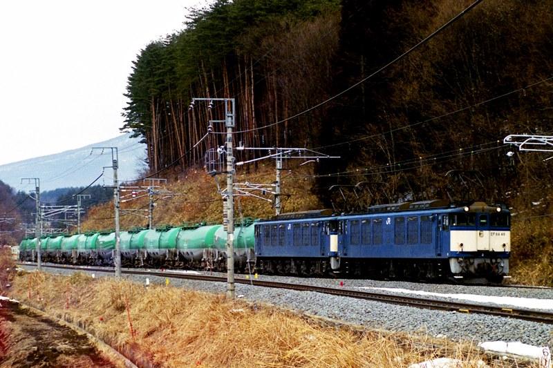 2001年2月18日 小淵沢~長坂にて (2)