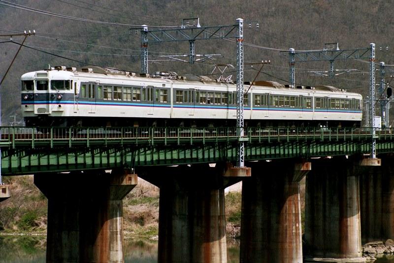 1993年4月3日 熊山~万富にて