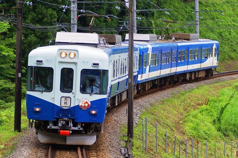 2009年7月3日 田野倉~上大月にて