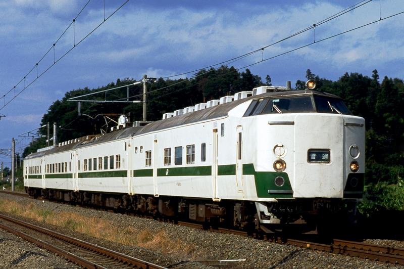 1997年8月7日 松川~安達にて