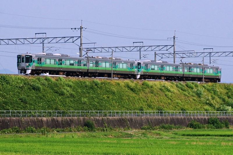 2013年7月12日 愛環梅坪~四郷にて (1)