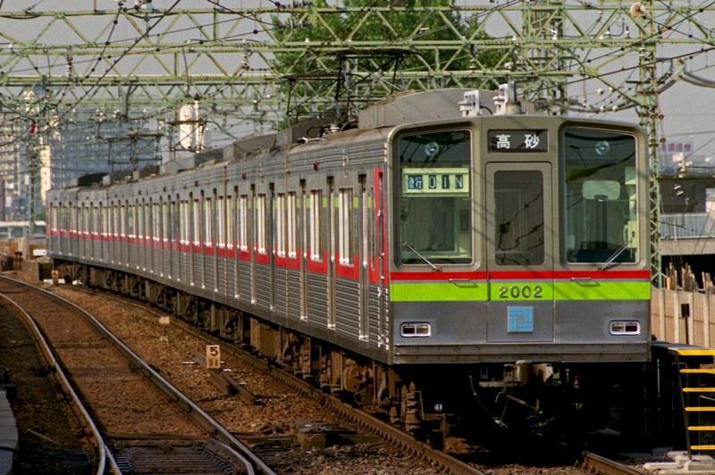 1991年6月14日 京急川崎にて (4)