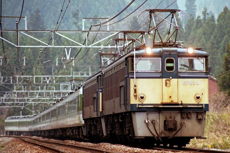 1997年4月15日 熊ノ平(信)~横川にて (3)