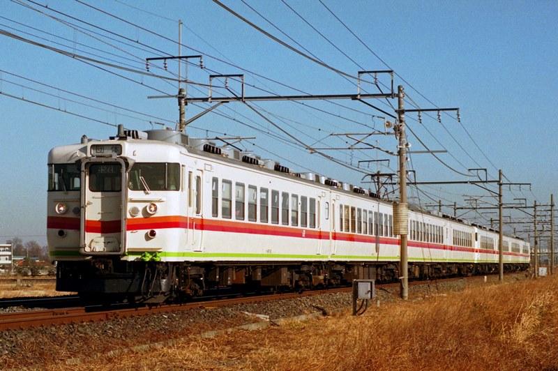 1996年1月5日 栗橋~東鷲宮にて (2)