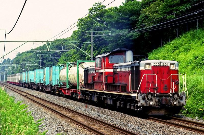 2001年7月6日 物井~四街道にて (1)