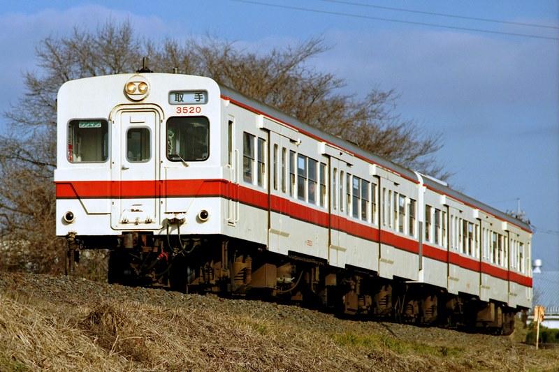 2005年2月5日 小絹~新守谷にて (2)