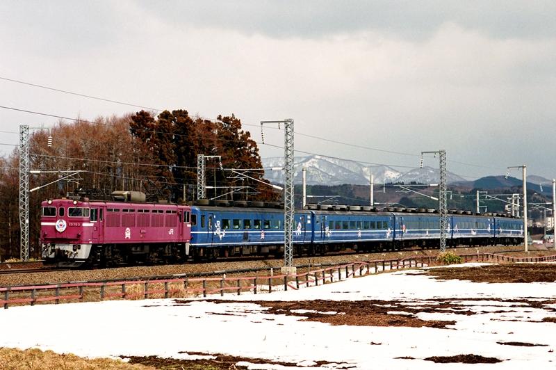 1998年3月9日 木古内~知内にて (1)