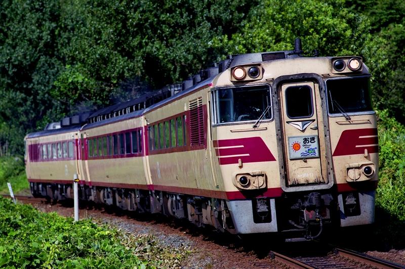 2000年8月12日 田儀~羽根にて