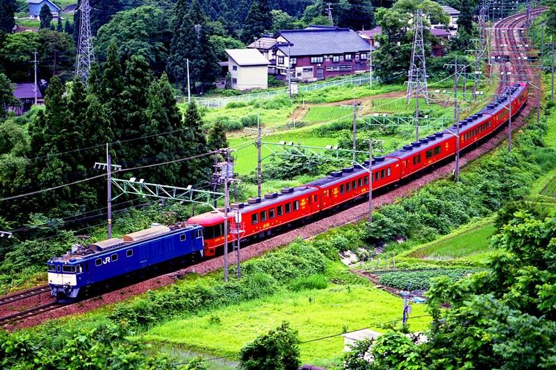 2001年6月24日 越後湯沢~石打にて