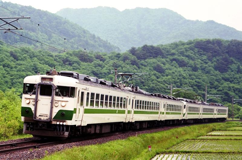 1998年5月24日 西仙台ハイランド(臨)~作並にて