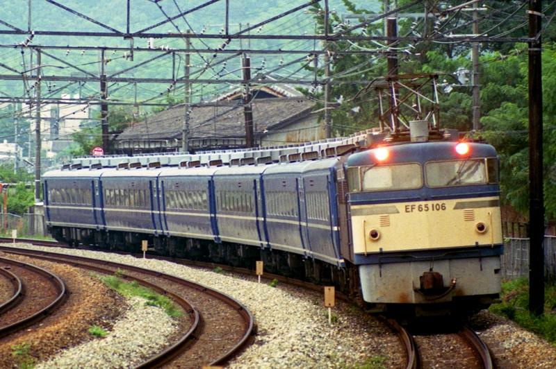 1990年8月12日 高槻~山崎にて (7)