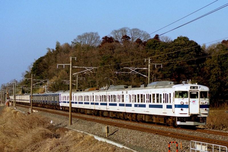 1997年2月9日 牛久~佐貫にて (2)