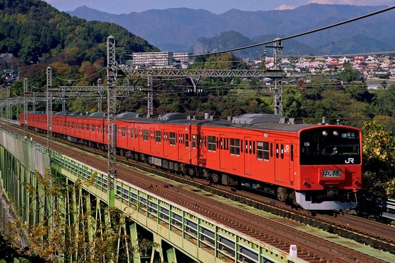 2001年11月11日 猿橋~鳥沢にて