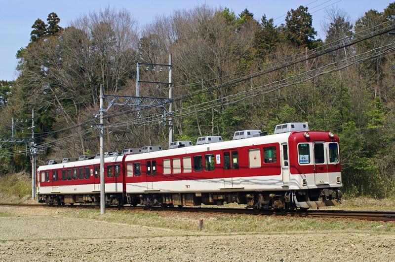 2009年4月3日 上林~比土にて (2)