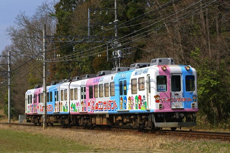 2009年4月3日 上林~比土にて (3)