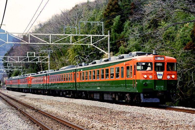 2003年3月30日 津久田~敷島にて