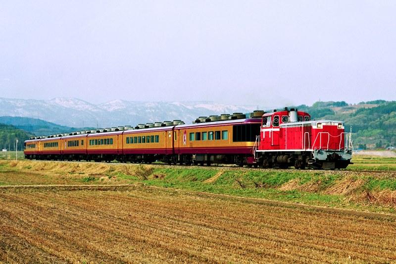 2002年4月20日 戸狩野沢温泉~信濃平にて