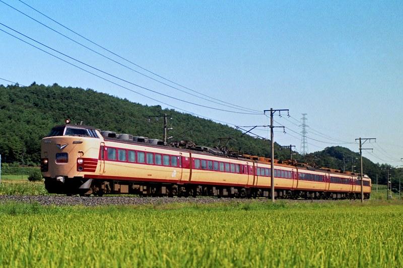 1994年8月23日 岩手川口~好摩にて