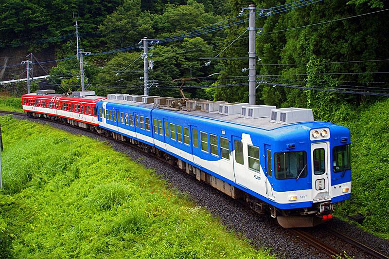 2011年7月21日 上大月~田野倉にて