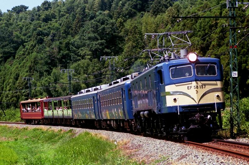 1995年8月27日 東上~野田城にて