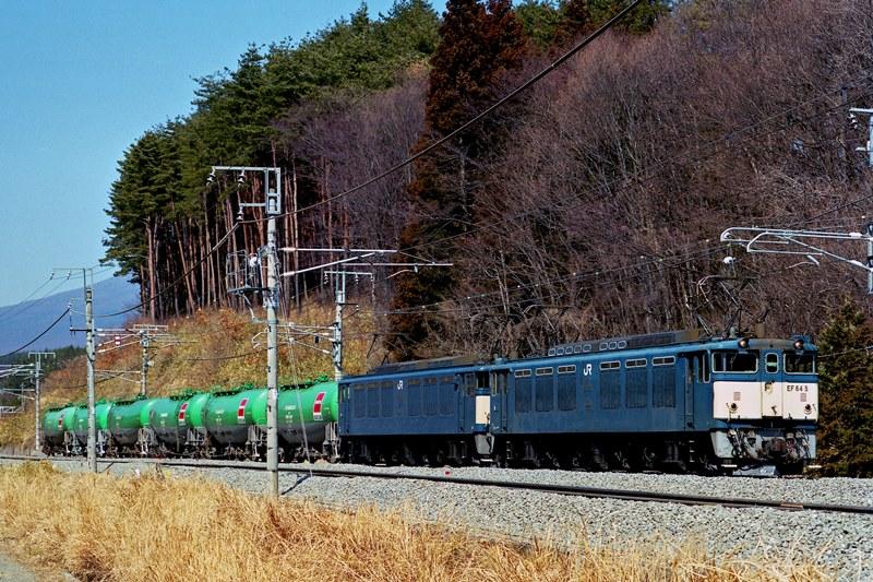 2002年3月3日 小淵沢~長坂にて (2)
