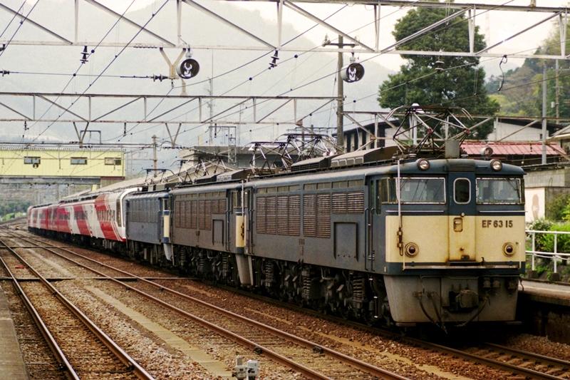 1997年4月21日 横川にて (1)