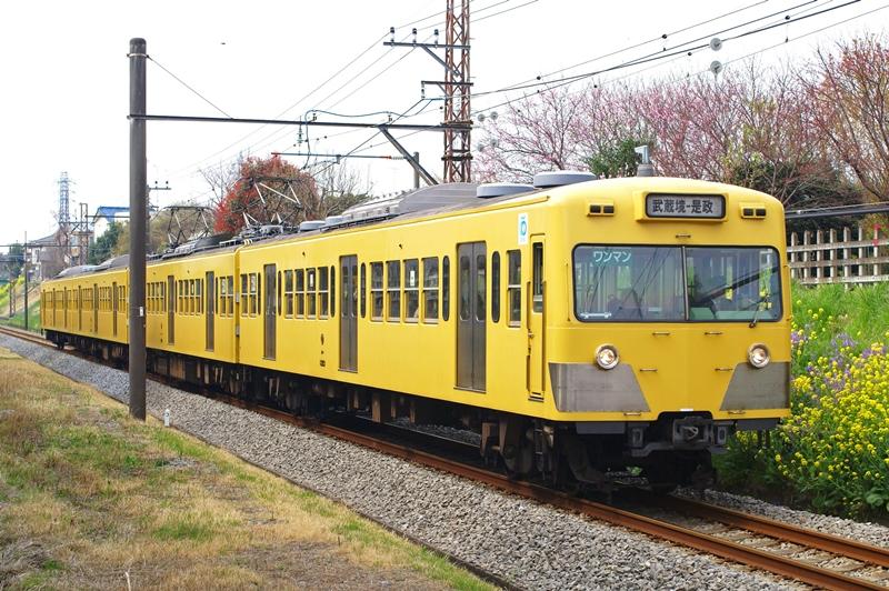2009年4月4日 多磨~新小金井にて (3)