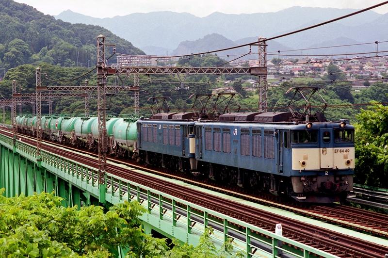 2006年7月10日 猿橋~鳥沢にて