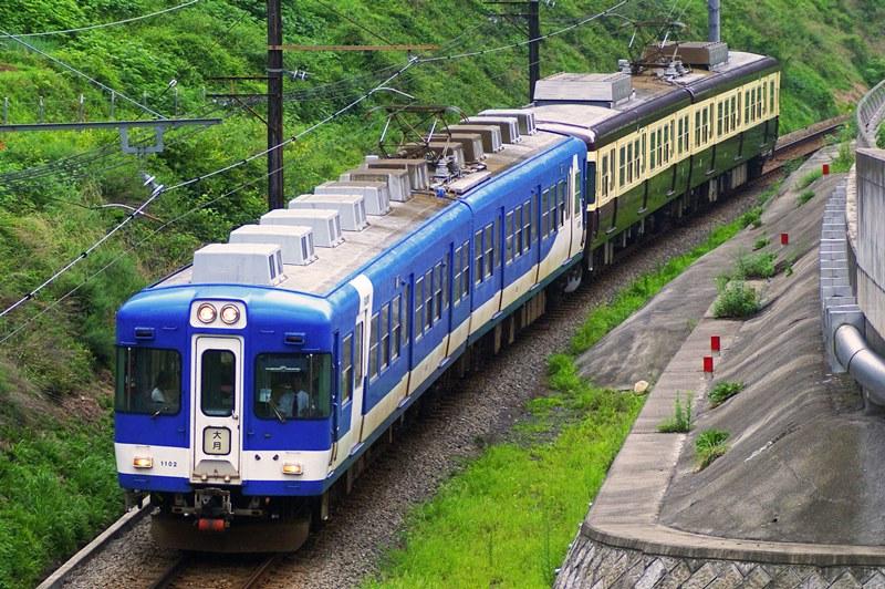 2009年8月14日 田野倉~上大月にて