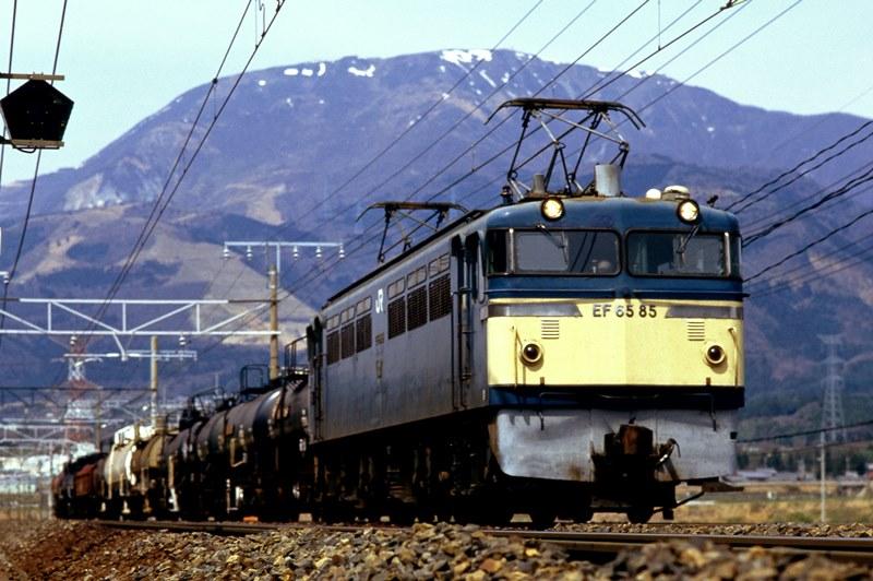 1997年4月1日 近江長岡~柏原にて (3)