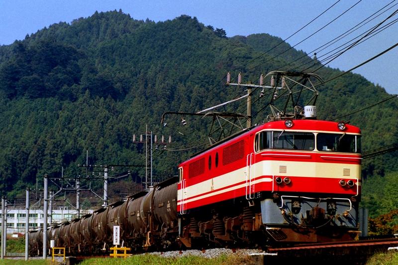 1995年10月31日 吾野~東吾野にて (2)