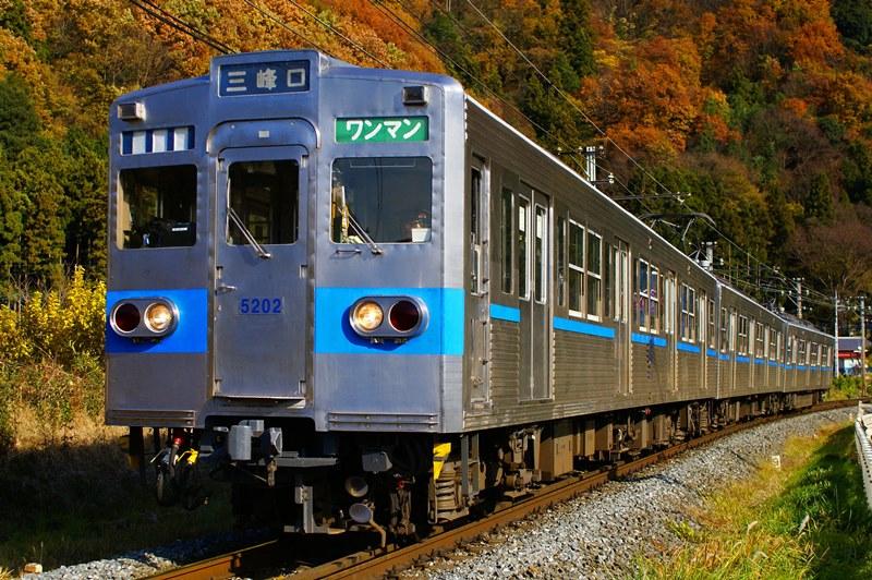 2010年11月30日 波久礼~樋口にて (3)