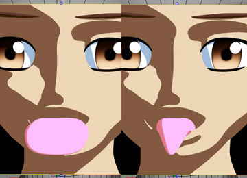 トゥーン舌4