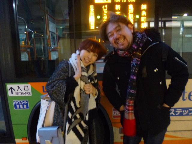 右の方が電通の菅野さん ドームツアーの 『 私たちは夢の中にいる・・・ 』 は彼の作