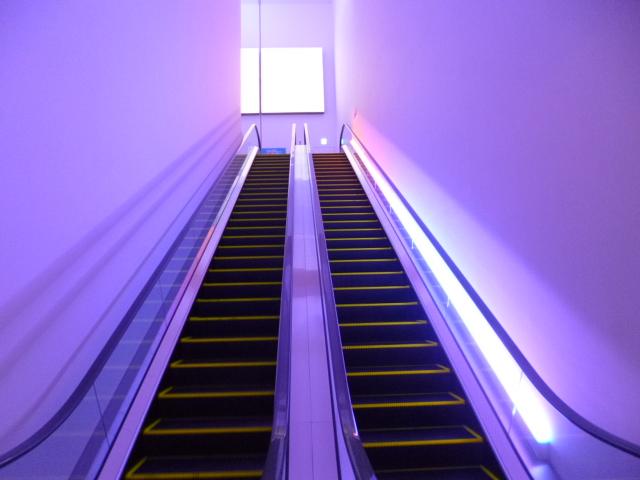 LEDの色がゆっくり変わったりします