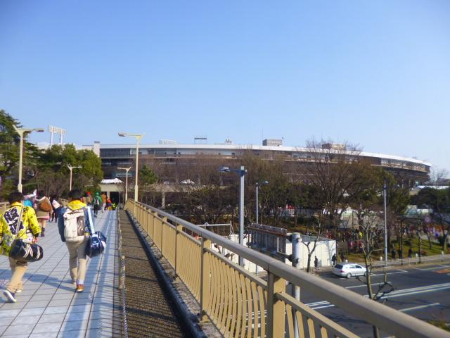 1964年の東京オリンピックのために建設されました