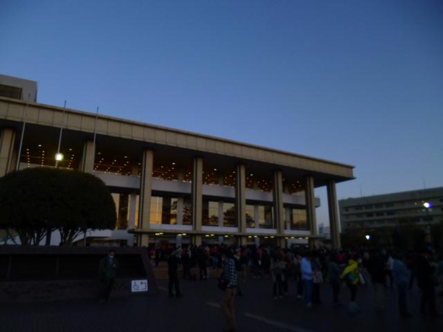 開演前の市民文化会館